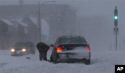 De grosses chutes de neiges avait été enregistrés dans l'Etat du Minnesota en début de mois