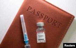 یورپ میں سفر کے لیے ویکسین پاسپورٹ کے اجرا پر غور ہو رہا ہے جو ویکسین کا کورس مکمل کرنے والوں کو جاری کیا جائے گا۔ فائل فوٹو