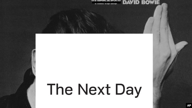 "This CD cover image released by Columbia Records shows ""The Next Day,"" by David Bowie."