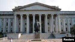 Министерство финансов США, Вашингтон (архивное фото)