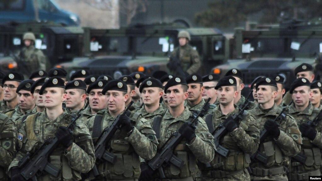 Kosova votoi themelimin e ushtrisë