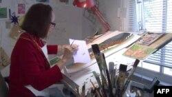 Suzan Stokdejl u svom studiju u Vašingtonu