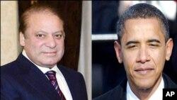 ملاقات بارک اوباما و نواز شریف
