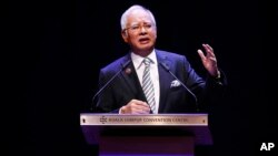 Perdana Menteri Malaysia Najib Razak (Foto: dok).