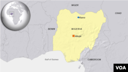map, Kano, Nigeria