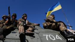 烏克蘭政府軍。