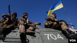 乌克兰政府军