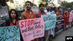 سیہون حملے پر سول سوسائٹی کی جانب سے احتجاج بھی کیا گیا تھا۔