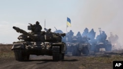 Ukraina tanklari mamlakat sharqida