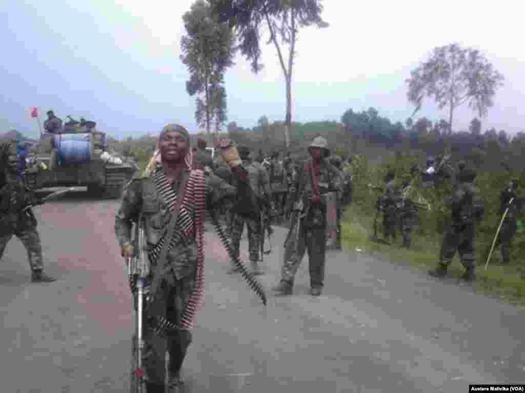 Wanajeshi wa DRC washerekea ushindi dhidi ya M23 Kibati