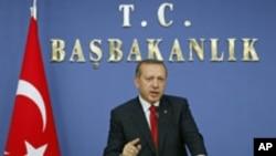 Turski premijer Redžep Tajip Erdogan tokom današnje konferencije za medije u Ankari