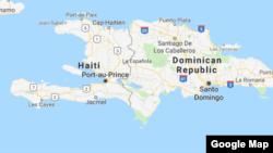 Peta Haiti. (Foto: Google Map)