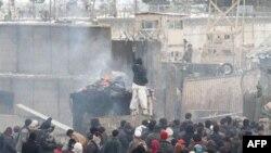 Беспорядки у американской военной базы Баграм. Архивное фото