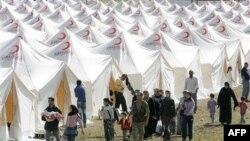 Suriya hökuməti Türkiyədə sığınacaq tapanları şəhərləri Cisr Əl-Şuqura qayıtmağa çağırır