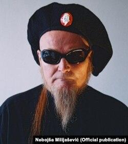 Peđa Vranešević, umetnik, Foto: Nebojša Milijašević