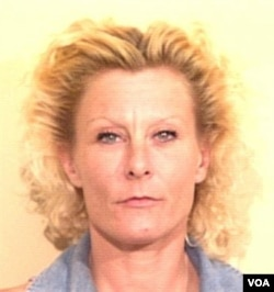 "In this June 26, 1997 photo released by the Tom Green County Jail in San Angelo, Texas, is shown a 1997 booking mug of Colleen R. LaRose. LaRose, the self-described ""Jihad Jane"" who thought her blond hair and blue eyes would let her blend in as she sought"