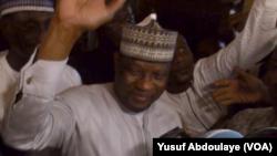 Hama Amadou, est de retour de l'exil