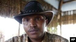 被國際刑事法庭通緝的剛果軍隊指揮官恩塔甘達(資料圖片)