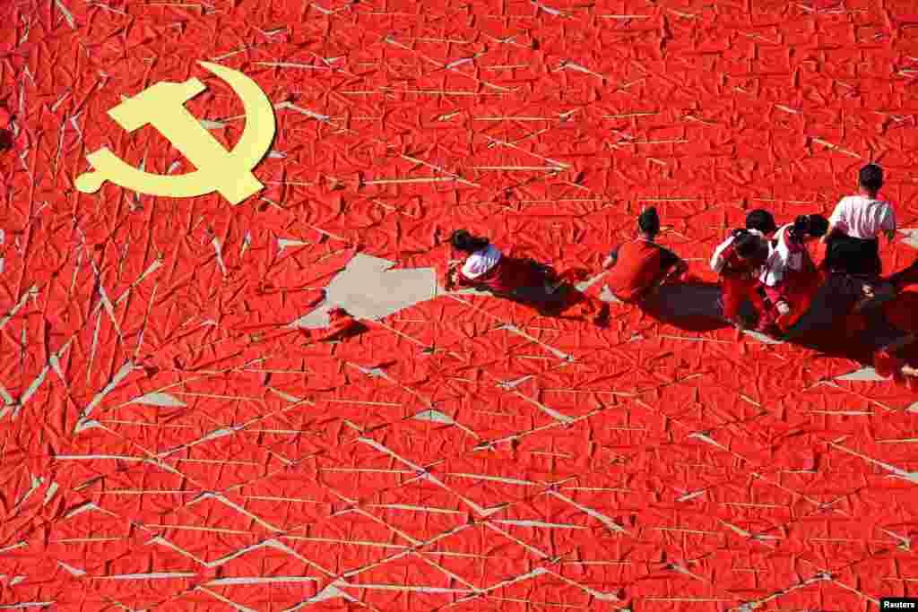 Çin - Kommunist Partiyasının Milli Konqresinə hazırlıqlar