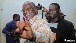 John Pombe Magufuli, umukandida w'Ishyaka Chama Cha Mapinduzi (CCM)