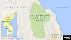 Mt. Kumgang National Park, North Korea