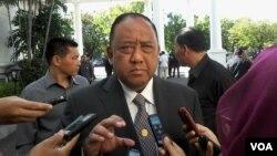 Kepala BIN, Marciano Norman di Istana Negara, Jakarta (Foto: dok).
