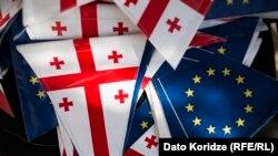 Грузия отмечает годовщину либерализации визового режима с ЕС. 26 марта 2017 г.