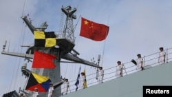 china ships in djibouti