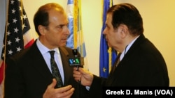 Greek Ambassador to the US Christos Panagopoulos