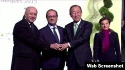Tổng thư ký Liên Hiệp Quốc Ban Ki-moon và hơn 60 tổng thống và thủ tướng, cũng như hàng chục quan chức cấp cao khác đến từ hơn 130 quốc gia sẽ tập trung tại New York để ký hiệp ước biến đổi khí hậu.