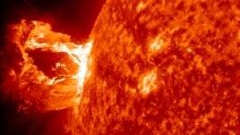 Dramatična erupcija usijanih gasova i magnetnog materijala na površini sunca