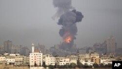 غزه به دنبال حمله هوایی اسرائیل- شنبه 17 نوامبر