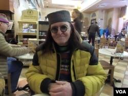 人權人士尼科里斯基(美國之音白樺拍攝)