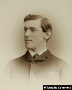 Woodrow Wilson around 1875