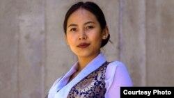 藏裔学生齐美·拉莫 (图片来自齐美·拉莫脸书页面)