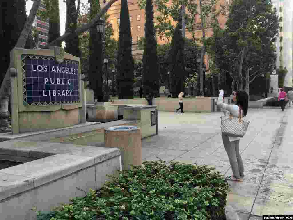 جلوه های ایرانی در شهر لس آنجلس