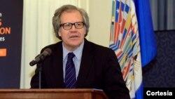 Luis Almagro expresó su deseo que Venezuela celebre una verdadera fiesta cívica.