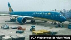 베트남항공 여객기.