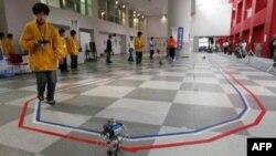 İlk Robot Maratonunun Galibi Belli Oldu