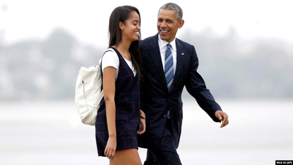 Malia Obama Moves in for First Year at Harvard