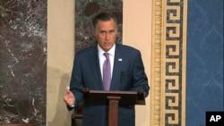 Senator Mitt Romni (R-Utah)