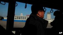 В аэропорту столицы Северной Кореи