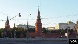 普京最近很少去克里姆林宮。(美國之音白樺)