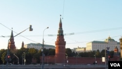 普京最近很少去克里姆林宫。(美国之音白桦)