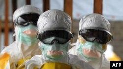 Ma'akantan cutar Ebola.