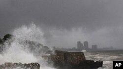 وسطی امریکہ کو سمندری طوفان کا سامنا