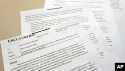 Bản ghi chú bốn trang do phe Cộng hòa soạn thảo khơi lên nhiều tranh cãi về thông tin không được sử dụng đầy đủ.
