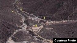 풍계리 핵실험장 위성사진 (자료사진)