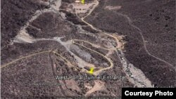 38노스가 공개한 풍계리 핵실험장 위성사진