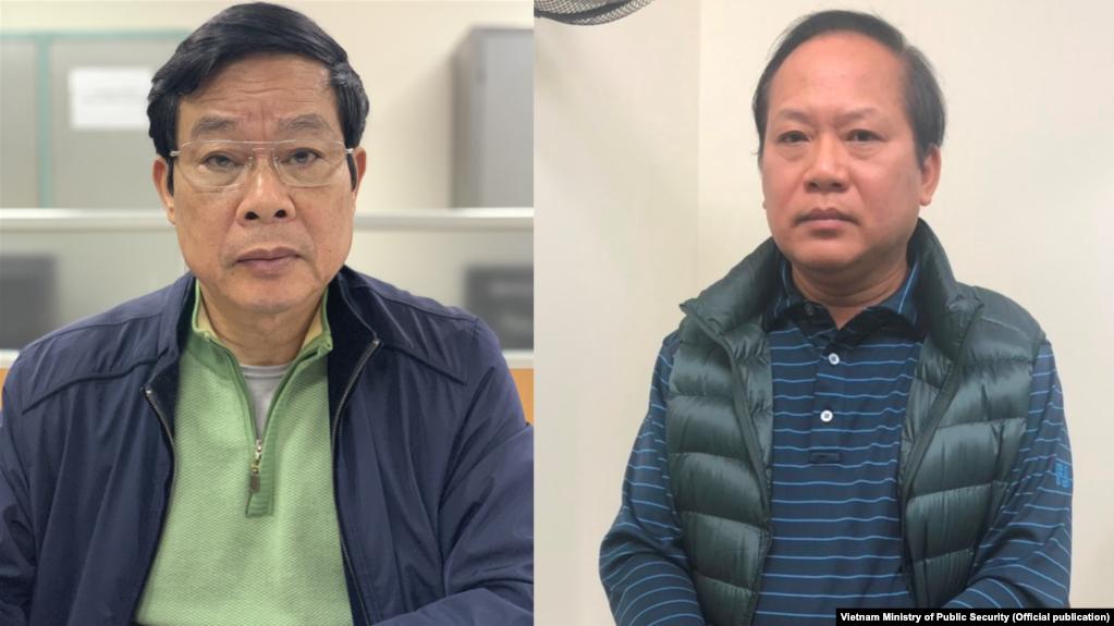 Nguyễn Bắc Son và Trương Minh Tuấn.